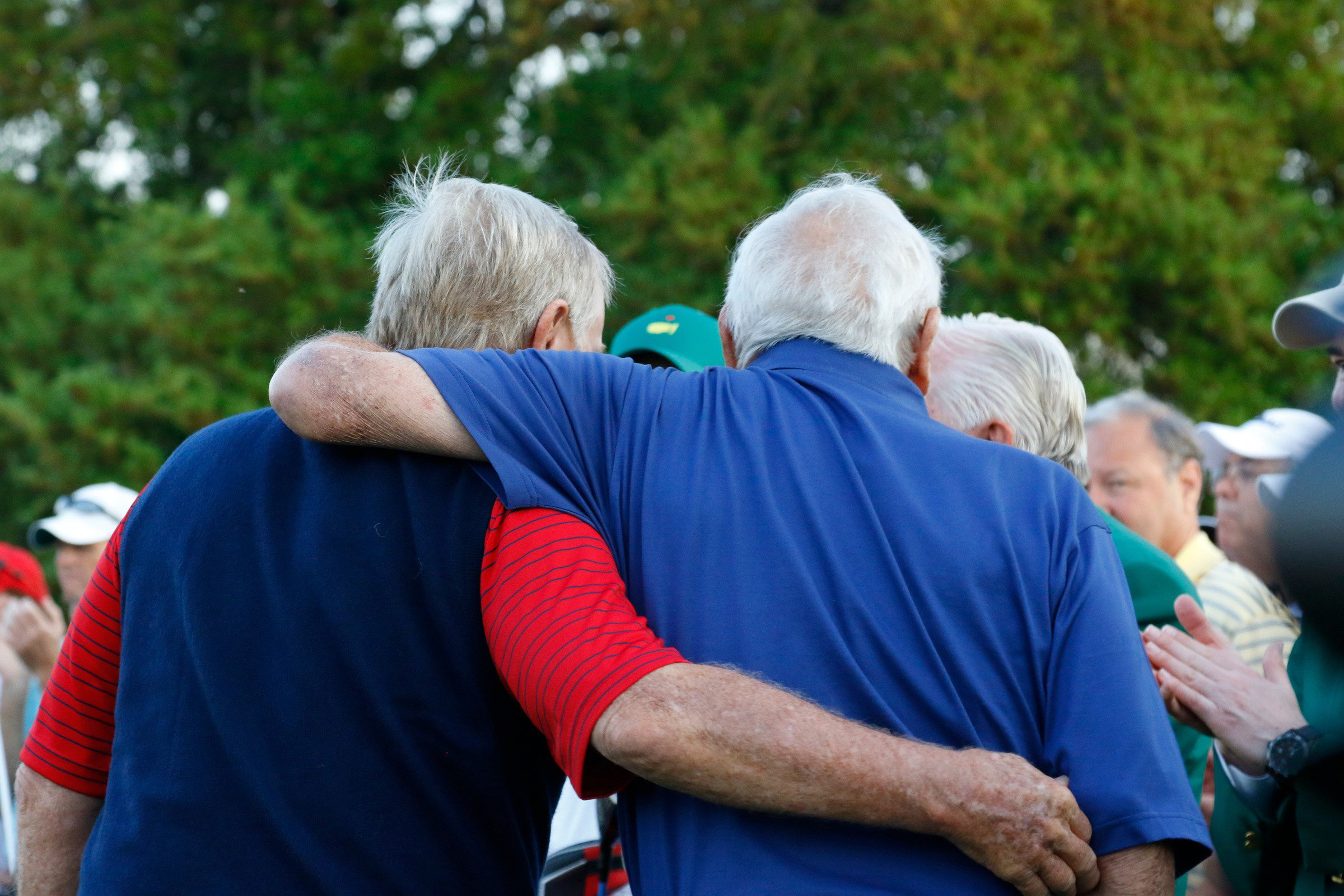 Jack Nicklaus and Arnold Palmer played their first Masters together in 1959.