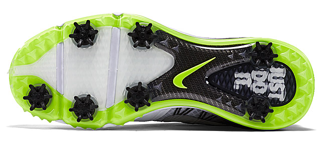Sole of Limited Edition Nike Lunar Control 3 Golf Shoes