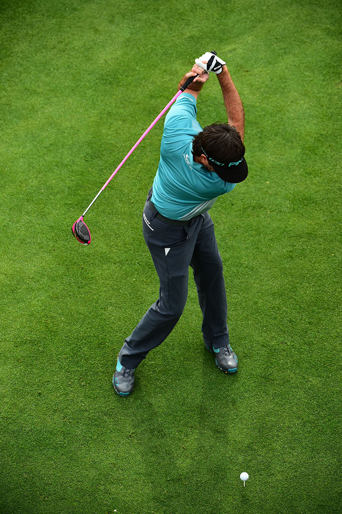 Like Bubba's move, your swing can be unorthodox but effective.