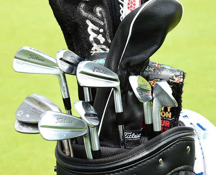 Jimmy Walker has Titleist MB Forged irons in his bag.