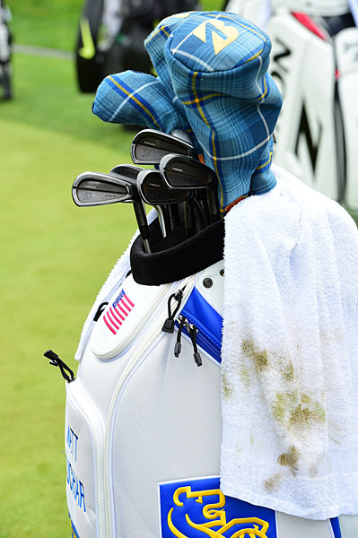 Matt Kuchar's golf bag.