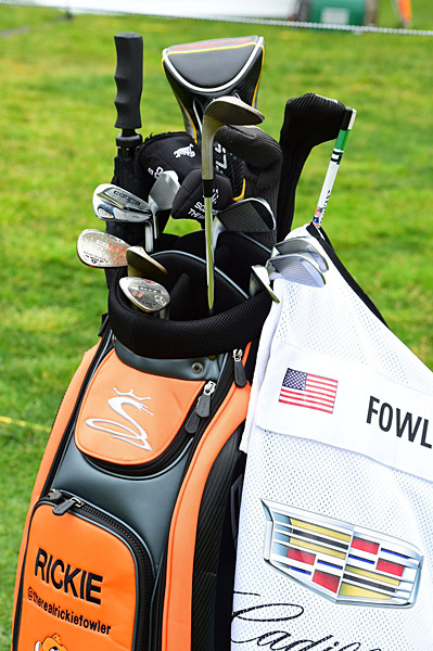 Rickie Fowler's golf bag.