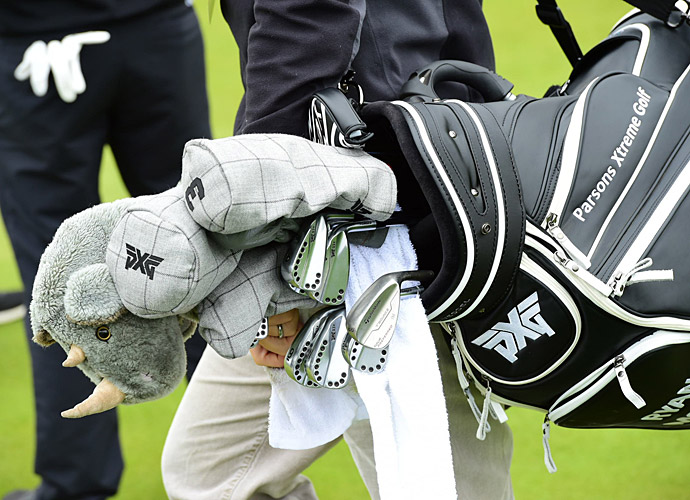 Ryan Moore's golf bag.