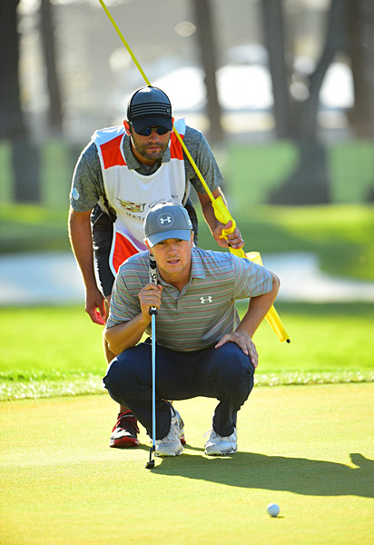 Spieth improved to 2-0 in round robin play with the win.