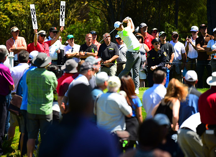 Rory McIlroy defeated Brandt Snedeker 2 up on day 2.