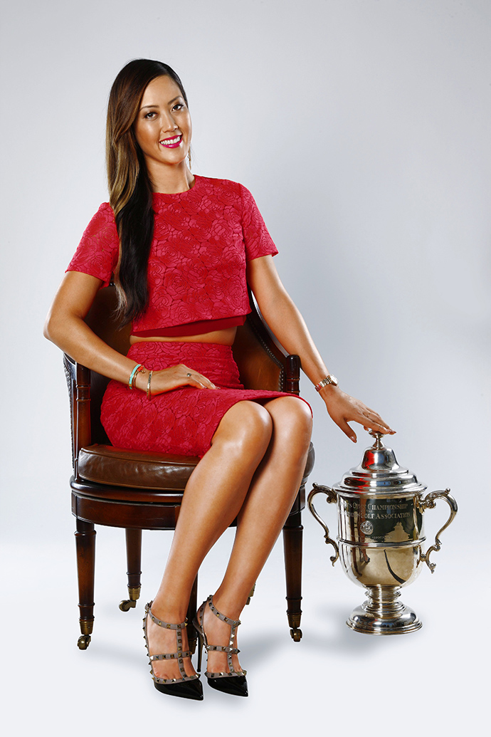 """""""I almost can't believe it happened,"""" Wie says of her victory at Pinehurst."""