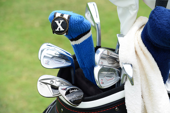 This week, Rory Sabbatini is armed with TaylorMade RSi TP irons, a brand new TaylorMade Tour Preferred EF wedge and a four-year-old TaylorMade TP wedge with xFT.