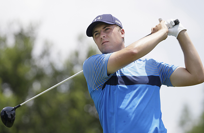 Jordan Spieth birdied his first hole of the tournament.