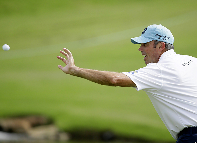 Matt Kuchar shot a one-over 71 in the first round.