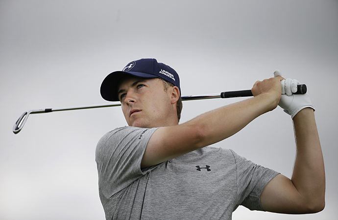 Jordan Spieth had another positive day on the course Friday following the rain delay.