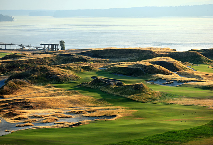 6th and 7th Holes, Chambers Bay