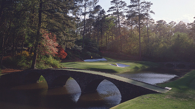 Longtime golf journalist John Derr reported from the Masters a record 62 times.