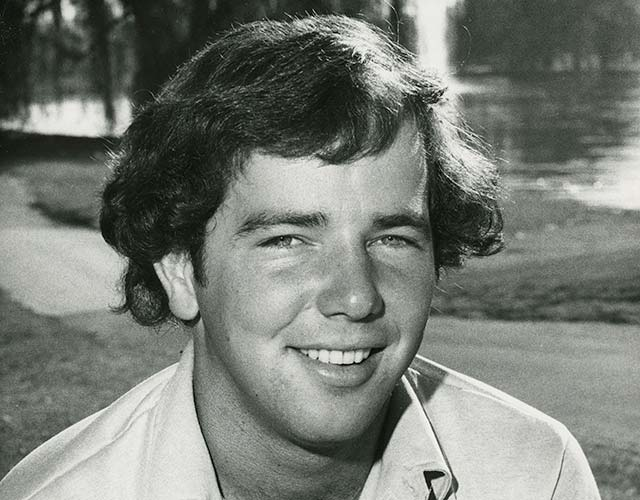 A fresh-faced O'Meara, 22, at the 1979 U.S. Amateur, where he thumped John Cook, 8 and 7, in the final.