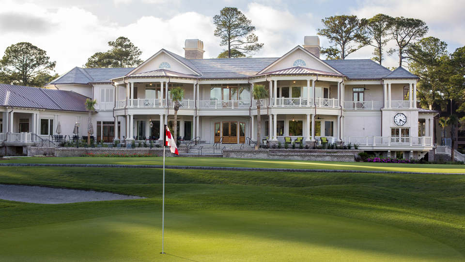 Not far from the ninth green at Harbour Town is the new 55,000-square-foot clubhouse that recently went through a $25-million renovation.