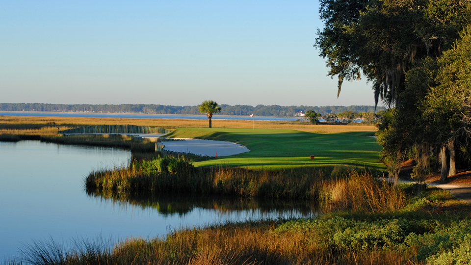 The par-3 17th at Harbour Town is where Jim Furyk made birdie to win the 2015 RBC Heritage in a playoff.