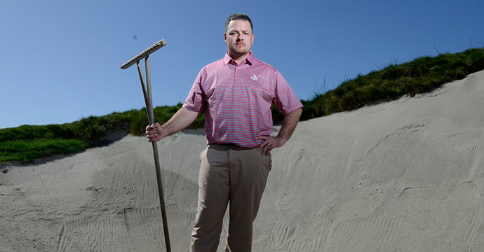 "A native of the Pacific Northwest who previously worked on Bandon Trails, Lewis is a fan of links designs ""that fit into the terrain. I want to showcase golf played that way."""