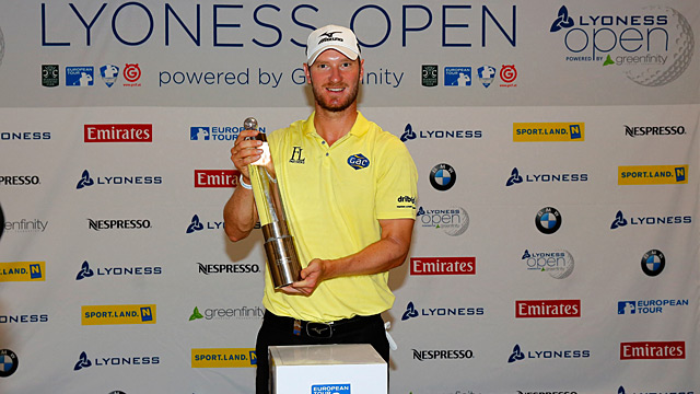 This week's win was Chris Wood's second European Tour victory.