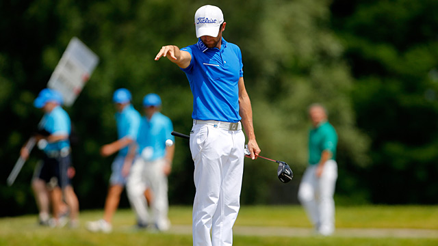 Gregory Bourdy's tournament was derailed with a Sunday 78.