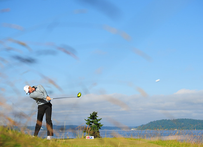Rory McIlroy was on the course Wednesday making final preparations for the U.S. Open.