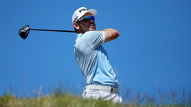 Louis Oosthuizen shot a 66 to jump up the leaderboard entering Sunday at Chambers Bay.
