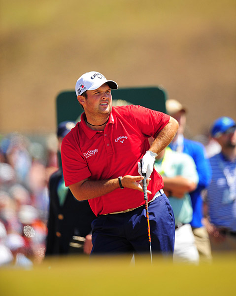 Patrick Reed on Saturday.