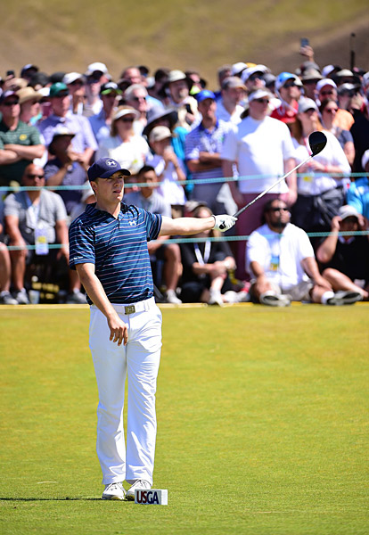 Jordan Spieth got off to a slow start in the final round.