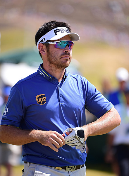 Louis Oosthuizen began the day three shots off the lead.