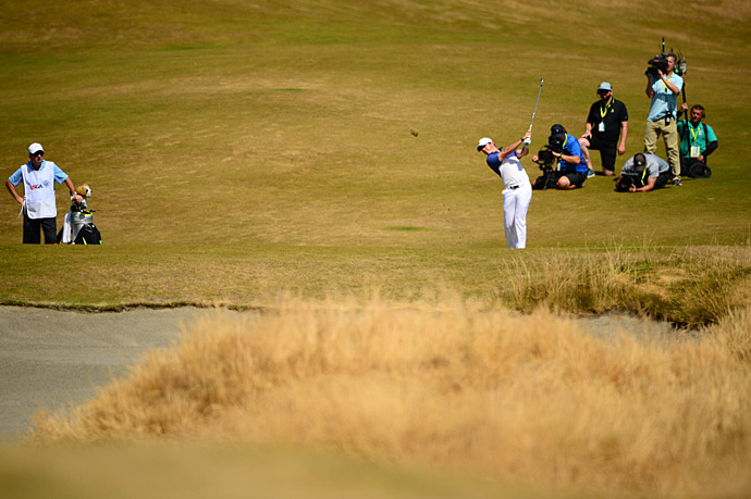 World No. 1 Rory McIlroy during the final round.