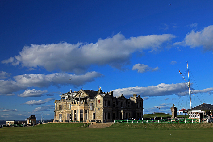 The R&A Clubhouse overlooks the Old Course, where former World No. 1s have dominated.