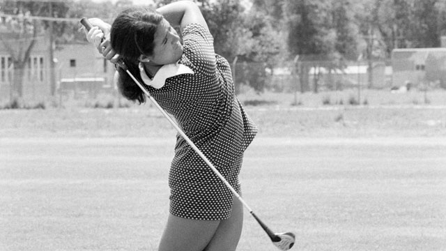 Nancy Lopez, who won the New Mexico women's amateur twice, won five consecutive events during her rookie year on the LPGA Tour.