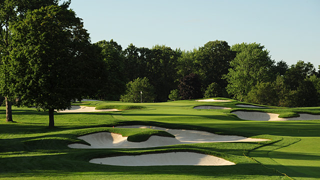 Oakland Hills in Michigan.