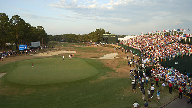 Pinehurst No. 2 during the 2014 U.S. Open.