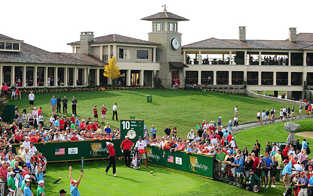 Muirfield Village in Ohio during the 2013 Presidents Cup.