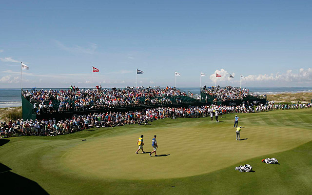 The Ocean Course at Kiawah Island during the 2012 PGA Championship.