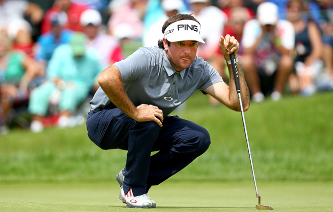Bubba Watson shot a Sunday 67 to finish in a tie for 13th.