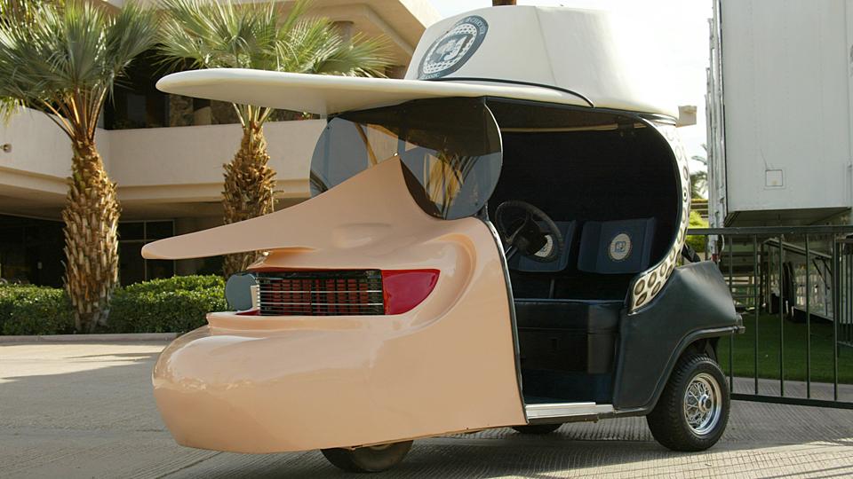 Bob Hope's Golf Cart