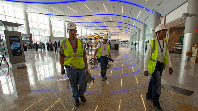 The new Maynard H. Jackson Jr. International Terminal at Hartsfield-Jackson International Airport in Atlanta.