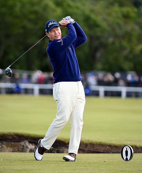 Five-time champion Tom Watson is playing in his final Open this week.