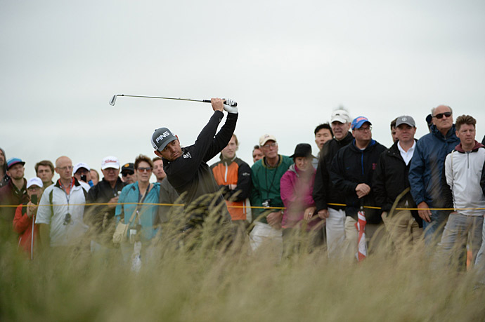 Oosthuizen won the last British Open held at St. Andrews, in 2010.