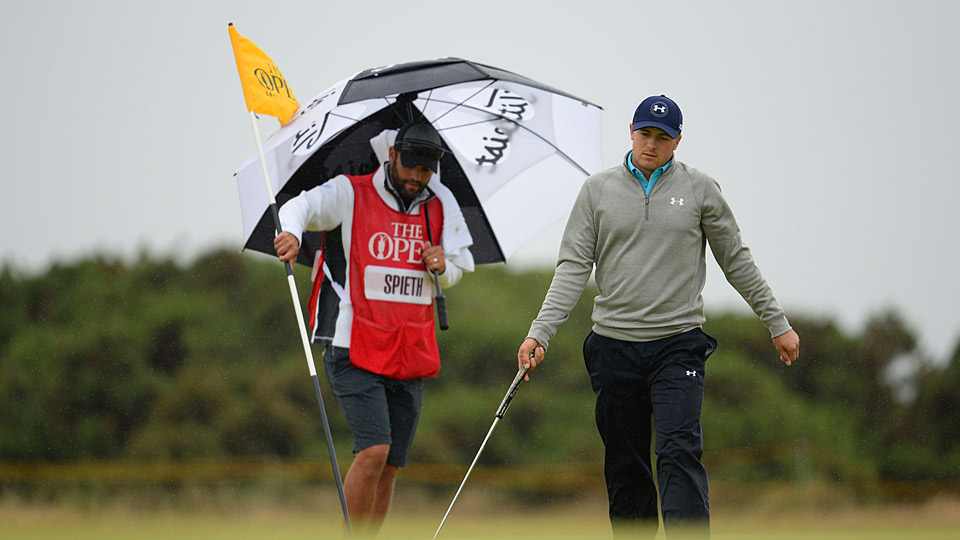 Jordan Spieth shot a three-under 69 in the final round, but it wasn't enough for the win.