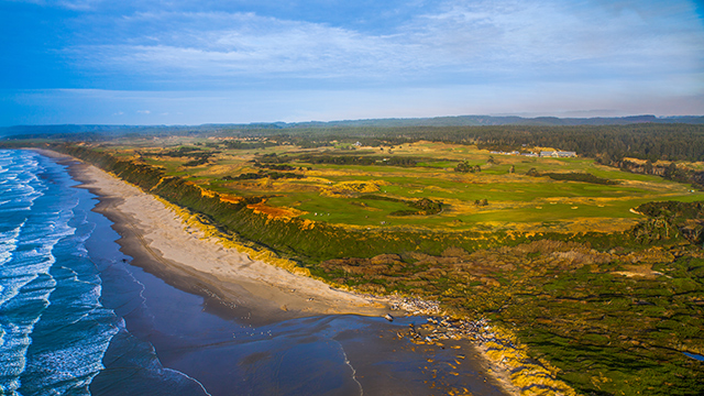 Bandon is beautiful, but be prepared for a long walk.