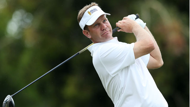 Billy Hurley III spoke at a press conference before the Quicken Loans National and discussed his father's disappearance.