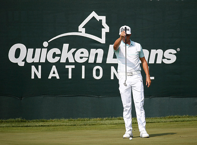 Rickie Fowler fired a 67 to get within four of the lead.