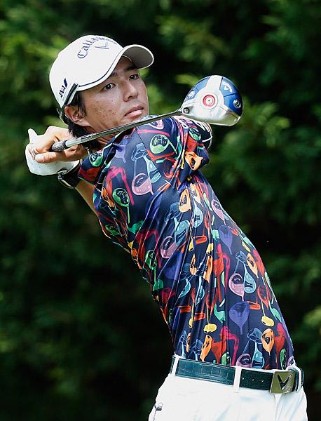 Ryo Ishikawa also reached eight under to match Goosen