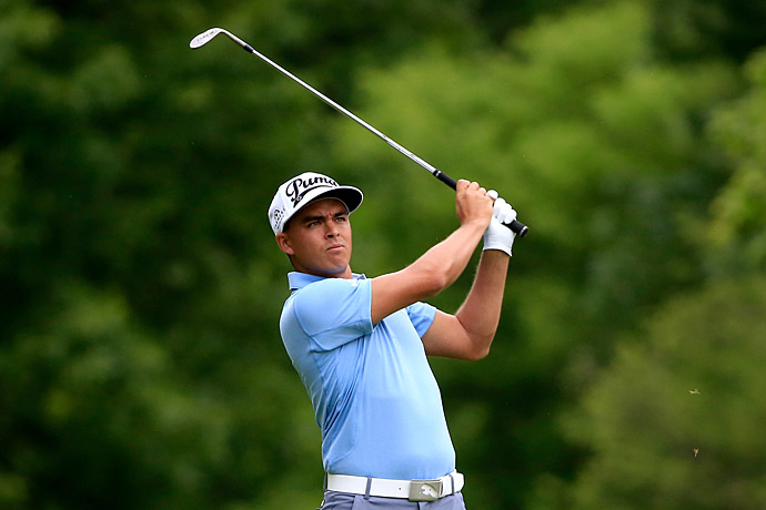 Rickie Fowler fired a three-under 67 on day 1 at the WGC-Bridgestone Invitational.