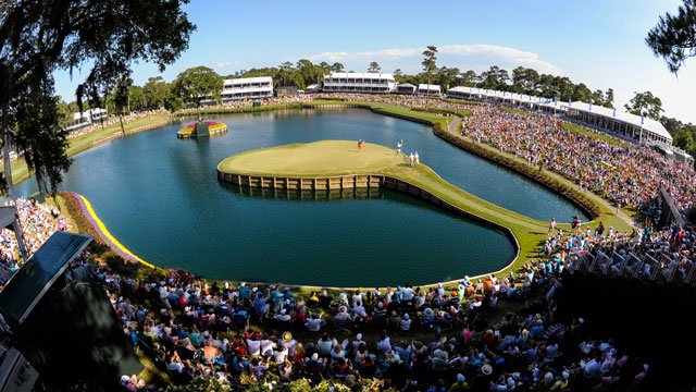 The famous island-green 17th at TPC Sawgrass even gives the pros chills.