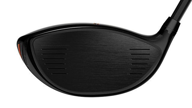 A view of the face of the new Cobra King LTD driver.
