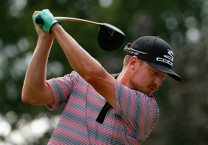 Jonas Blixt shot a 62 on Saturday to shoot up the leaderboard by 30 spots.