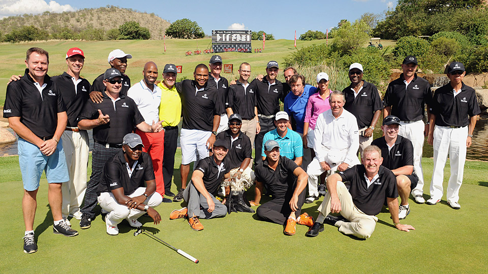 A group picture from the Gary Player Invitational Pro-Am.