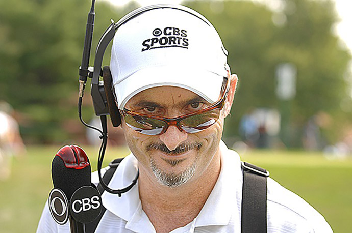 David Feherty at the 2007 WGC-Bridgestone Invitational.